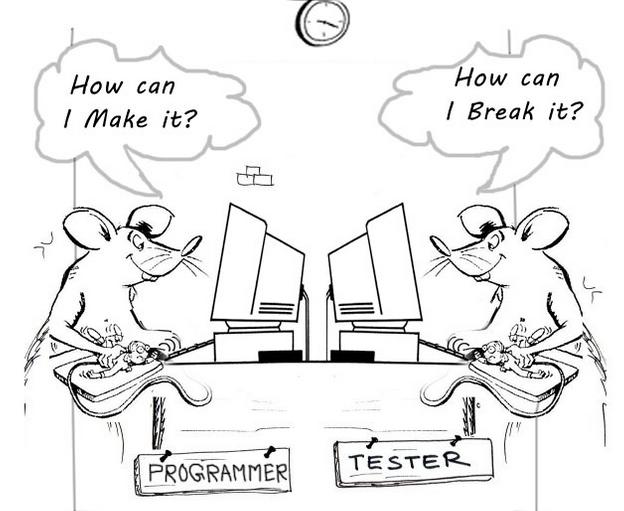 developer vs -tester