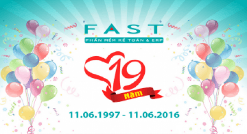 Infographic FAST 19 năm